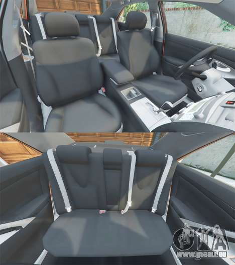 GTA 5 Toyota Camry V40 2008 [add-on] Lenkrad