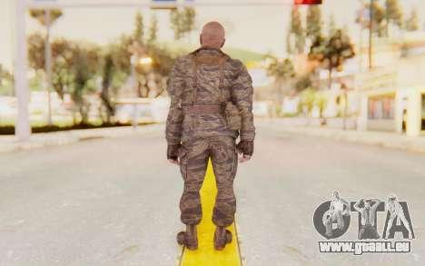 COD BO Hudson Vietnam für GTA San Andreas dritten Screenshot
