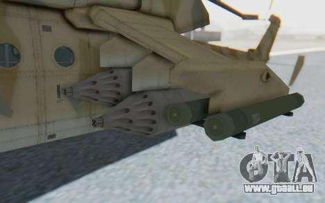 MGSV Phantom Pain HP-48 Krokodil für GTA San Andreas Rückansicht