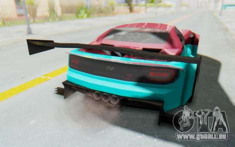 Bumblebee-R für GTA San Andreas Seitenansicht