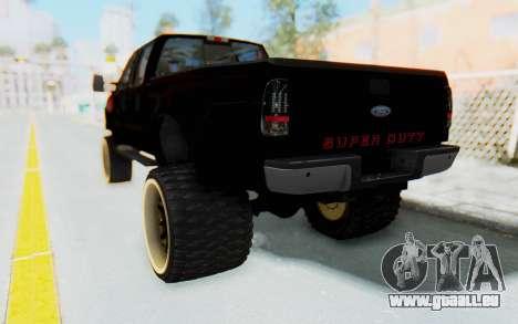 Ford Super Duty Off-Road pour GTA San Andreas laissé vue