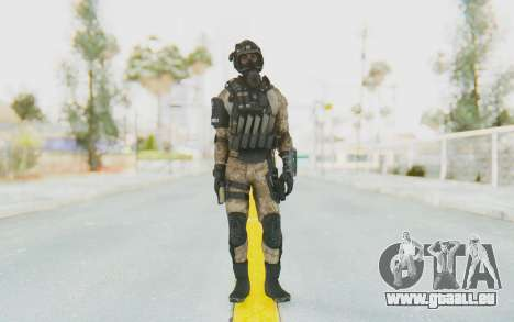 Federation Elite SMG Desert pour GTA San Andreas deuxième écran