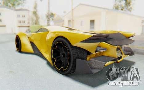 GTA 5 Grotti Prototipo v2 IVF pour GTA San Andreas laissé vue