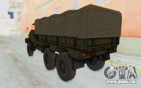 MGSV Phantom Pain BOAR 53CT Truck Roof pour GTA San Andreas laissé vue