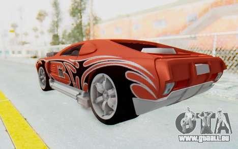 Hot Wheels AcceleRacers 2 pour GTA San Andreas laissé vue