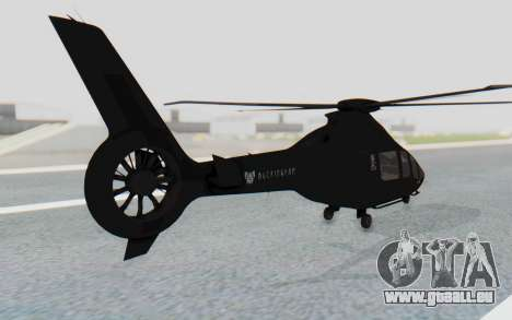 GTA 5 Buckingham Volatus v1 IVF für GTA San Andreas linke Ansicht