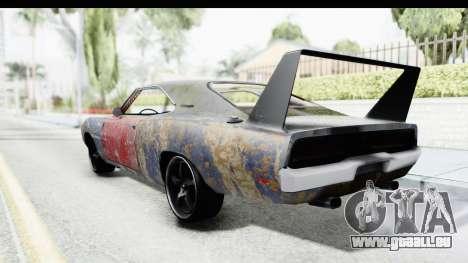 Dodge Charger Daytona F&F Bild pour GTA San Andreas laissé vue