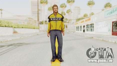 Dead Rising 3 Chuck Greene on DR2 Outfit für GTA San Andreas zweiten Screenshot