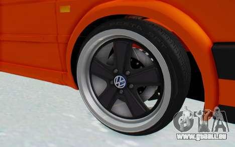 Volkswagen Golf 2 GTI 1.6V für GTA San Andreas Rückansicht