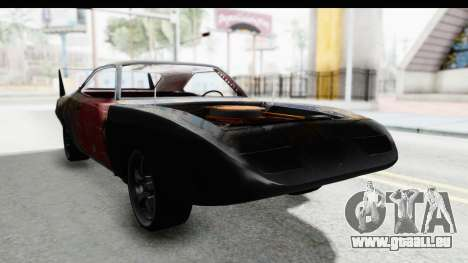Dodge Charger Daytona F&F Bild pour GTA San Andreas vue de droite