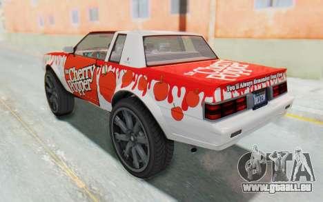 GTA 5 Willard Faction Custom Donk v1 IVF für GTA San Andreas obere Ansicht