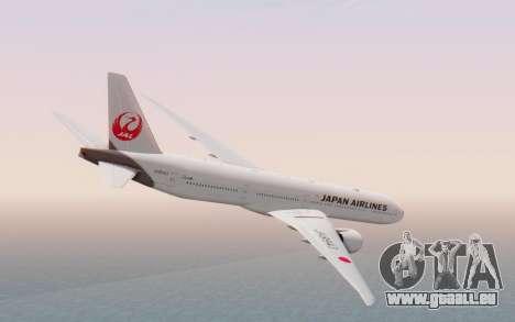Boeing 777-300ER Japan Airlines v2 pour GTA San Andreas laissé vue