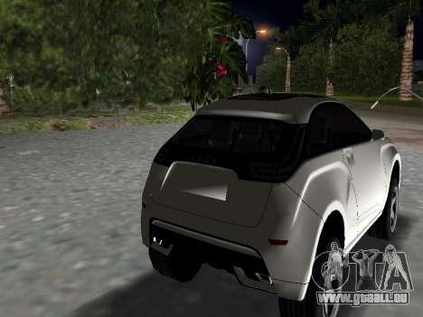Lada X-Ray pour une vue GTA Vice City de la gauche