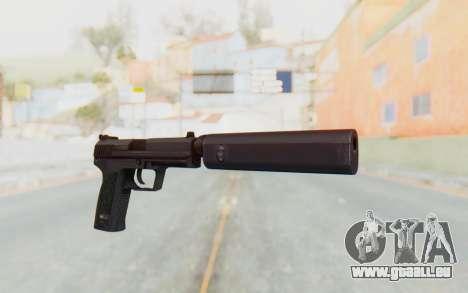 H&K 45 Silenced für GTA San Andreas zweiten Screenshot