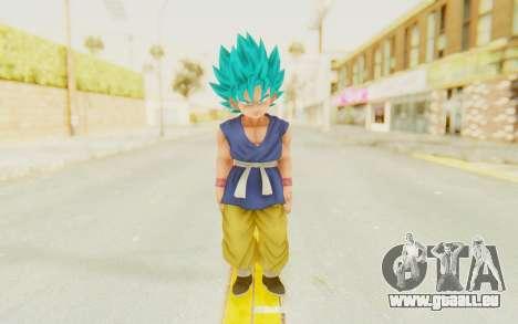 Dragon Ball Xenoverse Goku Kid GT SSGSS pour GTA San Andreas deuxième écran