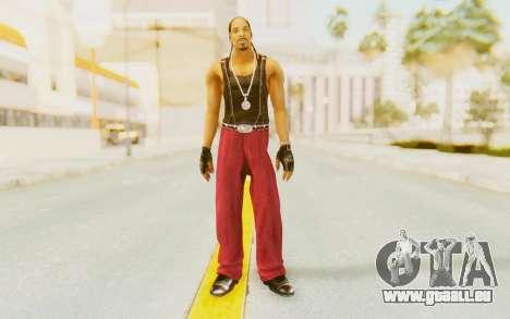 Def Jam Fight For New York - Snoop Dogg für GTA San Andreas zweiten Screenshot