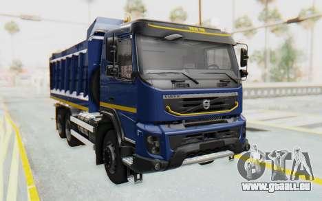Volvo FMX 6x4 Dumper v1.0 Color für GTA San Andreas rechten Ansicht