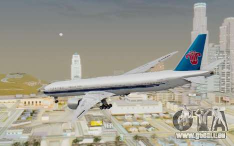 Boeing 777-300ER China Southern Airlines für GTA San Andreas linke Ansicht