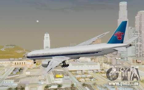 Boeing 777-300ER China Southern Airlines pour GTA San Andreas laissé vue