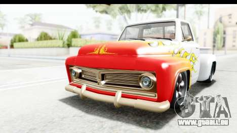 GTA 5 Vapid Slamvan without Hydro pour GTA San Andreas salon