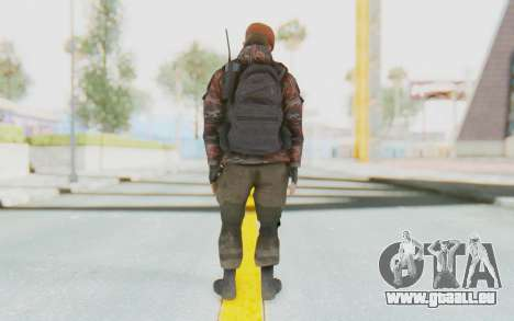 COD MW2 Russian Paratrooper v4 pour GTA San Andreas troisième écran