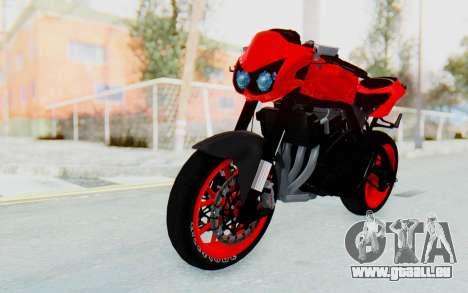 Kawasaki Ninja 250R Streetrace Naked pour GTA San Andreas vue de droite