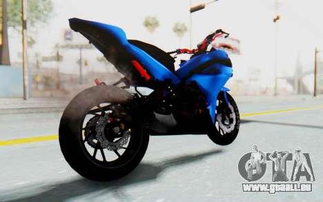 Yamaha Mx King 1000CC für GTA San Andreas zurück linke Ansicht