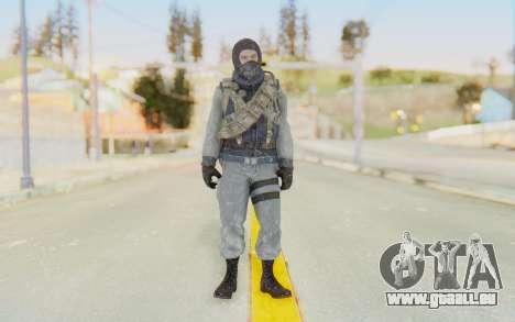 COD BO Bruce Harris Winter für GTA San Andreas zweiten Screenshot