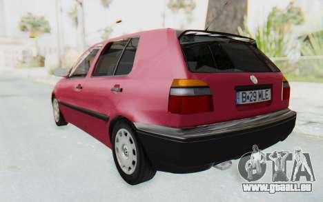Volkswagen Golf 3 1994 für GTA San Andreas linke Ansicht