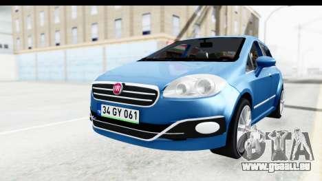 Fiat Linea 2014 Wheels pour GTA San Andreas