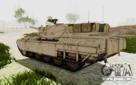 MGSV Phantom Pain M84A MAGLOADER pour GTA San Andreas vue de droite