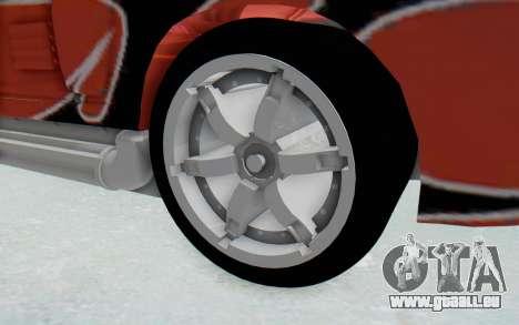 Hot Wheels AcceleRacers 2 für GTA San Andreas Rückansicht