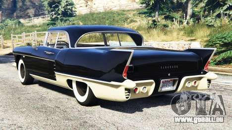 GTA 5 Cadillac Eldorado Brougham 1957 v1.1 hinten links Seitenansicht
