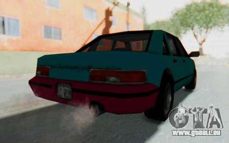 LC 90s Stanier pour GTA San Andreas laissé vue