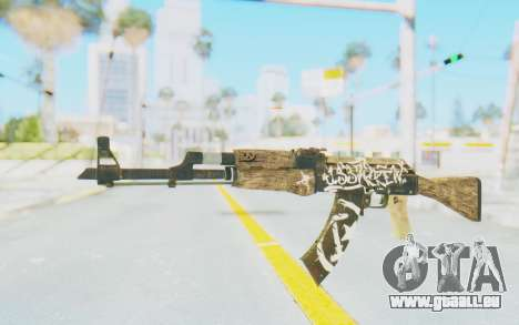 CS:GO - AK-47 Wasteland Rebel pour GTA San Andreas