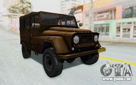 UAZ-460Б FIV pour GTA San Andreas