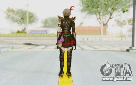Dynasty Warriors 8 - Lu Lingqi v1 pour GTA San Andreas troisième écran