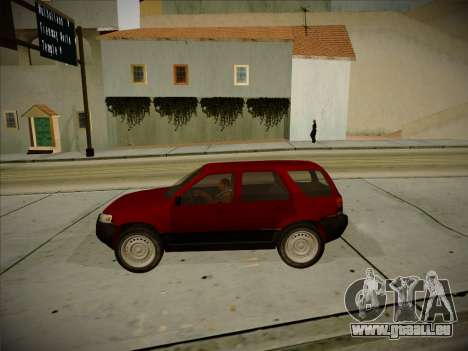 Ford Escape 2005 für GTA San Andreas Innenansicht