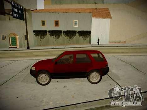 Ford Escape 2005 pour GTA San Andreas vue intérieure