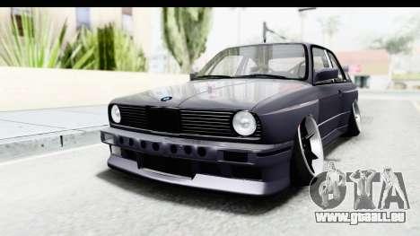 BMW M3 E30 2015 JDM pour GTA San Andreas