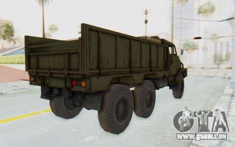 MGSV Phantom Pain BOAR 53CT Truck pour GTA San Andreas laissé vue