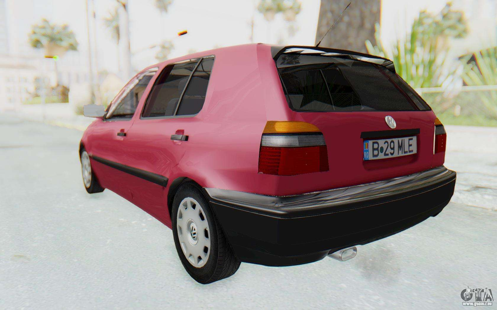 volkswagen golf 3 1994 pour gta san andreas. Black Bedroom Furniture Sets. Home Design Ideas