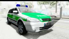 Opel Astra G Variant Polizei Bayern pour GTA San Andreas