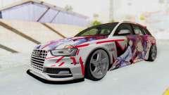 Audi S4 Avant Yurippe Angel Beats Itasha für GTA San Andreas