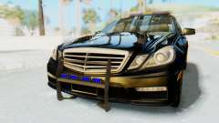 Mercedes-Benz E63 German Police Blue pour GTA San Andreas