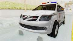 Toyota Fortuner 4WD 2015 Paraguay Police pour GTA San Andreas