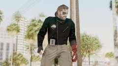 MGSV Phantom Pain Venom Snake Leather Jacket