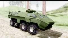 Lazar Serbian Armored Vehicle pour GTA San Andreas