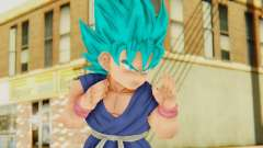 Dragon Ball Xenoverse Goku Kid GT SSGSS
