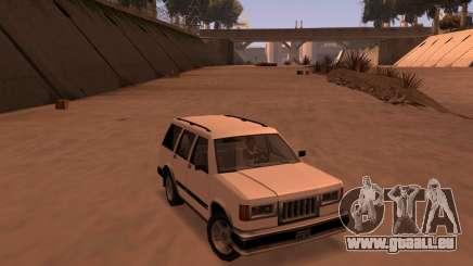 Landstalker SRT8 für GTA San Andreas